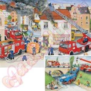 Ravensburger Tűzoltók 2x20 db