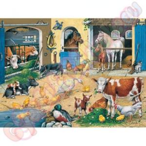 Ravensburger Farmélet 100 db-os puzzle - Ravensburger