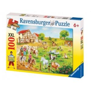 Ravensburger Puzzle - Póni farm, 100 db