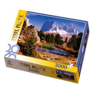Trefl Tó a dolomitokban 3000 db-os puzzle