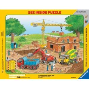 Ravensburger Építkezés 33db-os puzzle