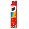 KORES HEXAGONAL színes ceruza, hatszögletű, 12 db/doboz