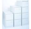 Függőmappa tárolószekrény, fém konténer irodai kellék
