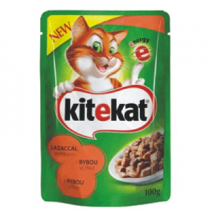 Kitekat Complete 100 g lazaccal