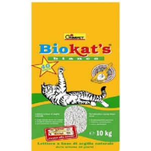 Biokats Bianco macskaalom