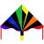 Invento Invento - Eco line Simple Flyer Black Rainbow 120 cm sárkány