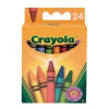 Crayola Crayola 24 db standard viaszkréta