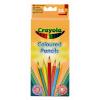Crayola 24 db háromszögletű extra puha színes ceruza