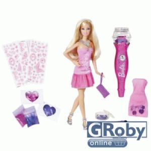 Barbie csillámos ceruzával