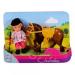 Simba Toys Steffi Love - Évi Baba Zsokéruhában - sötétbarna lóval - Simba Toys