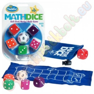 ThinkFun Math Dice Junior logikai kockajáték - Thinkfun