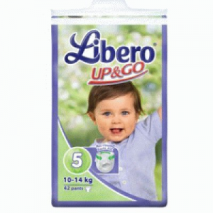Libero Up & Go Maxi plus pelenka 42 db (10-14 kg)