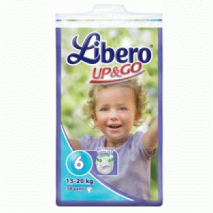 Libero Up & Go XL pelenka 38 db (13-20 kg)