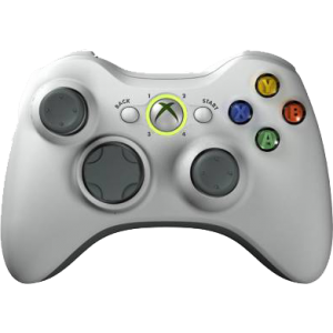 Microsoft Xbox 360 gamepad