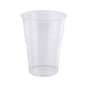 Műanyag víztiszta pohár 5 dl