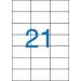 VICTORIA 3 pályás etikett, 70x42,4 mm, 2100 etikett/csomag