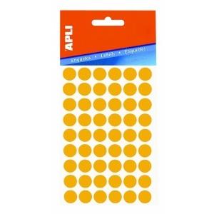 APLI 24 x 24 mm kézzel írható etikett, fehér, 240 etik ett/csomag