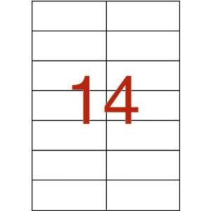 APLI 2 pályás etikett, 105 x 42,4 mm, 3500 etikett/cso mag