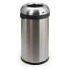 VEPA BINS Nyitott tetejű szemetes, rozsdamentes acél, ezüst , 60l