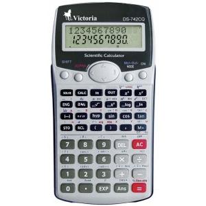 VICTORIA Tudományos, 283 funkció, 10 és 2 digit , 2 soros kijelző