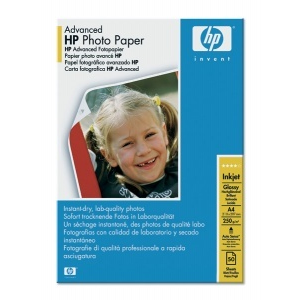 HP Advanced Glossy Photo Paper, A4, 250 g/m2
