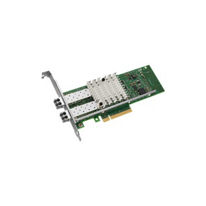 Intel X520 SERVER ADAPTER- SR2 DUAL PORT 10G BASE-SR LC FIBER PCIE (E10G42BFSR)