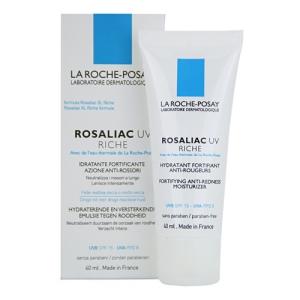 La Roche-Posay Rosaliac UV Riche Tápláló nyugtató krém érzékeny, pirosodásra hajlamos bőrre SPF15