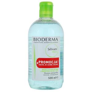 Bioderma Sébium tisztító emulzió kombinált és zsíros bőrre