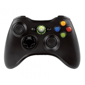 Microsoft Xbox 360 Wireless Controller fekete
