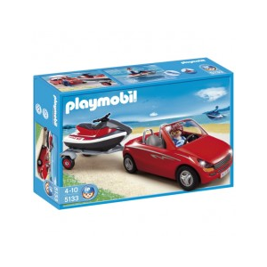 Playmobil Nyitott sportautó jetskivel - 5133