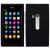 Nokia N9 szilikon hátlap (fekete)