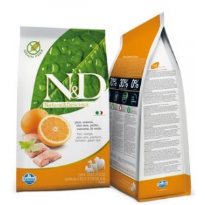 N&D Dog Adult Fish & Orange 12 kg