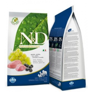 N&D Dog Adult Lamb & Blueberry 7 kg