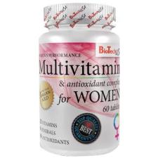 BioTech Multivitamin For Women tabletta 60db vitamin
