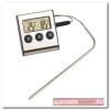'Gourmet'hőmérsékletmérő ezüst|szürke