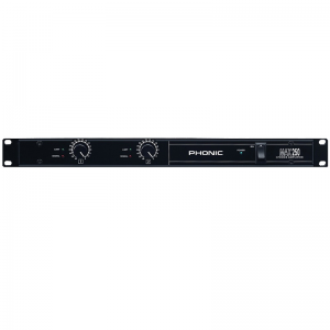 Phonic MAX250 Végerősítő, 2x80W/4Ohm