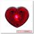 Szív alakú lámpa
