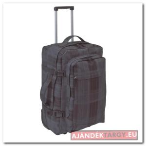Checker gurulós hátizsák, fekete