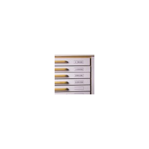 Címketartó fiókhoz 30x150 mm