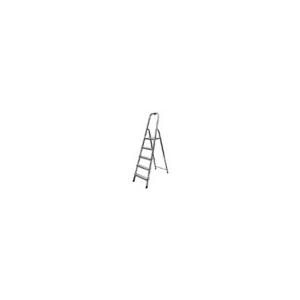 KRAUSE Solidy állólétra, alumínium, 4 lépcsőfokos
