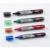 NOBO Folyékony tintás táblamarker, fekete (12 db)