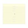 FILOFAX jegyzetlapok, vonalas, krémszínű, A5 méret