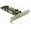 DELOCK RAID Vezérlő PCI 2x SATA Port vezérlőkártya