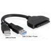 DELOCK Átalakító USB 3.0 to SATA for 2.5