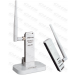 TP-Link Wireless N USB hálózati Adapter 150Mbps + 4 dBi antenna