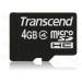 Transcend microSDHC 8GB Class 4