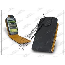 Sligo bőrtok - Samsung i9000 Galaxy-S - fekete tok és táska