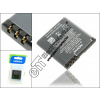 Nokia 5700/7390/8600lun/6110nav gyári akkumulátor - Li-Polymer 900 mAh - BP-5M
