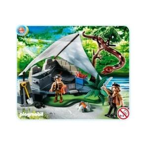 Playmobil Kincskeresők tábora hatalmas óriáskígyóval - 4843