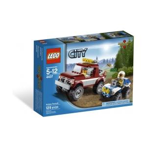 LEGO City - Üldöző rendőrautó 4437